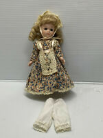 """Antique/ Vintage Style Doll Dress Fashion for 7"""" to 8"""" doll fits Vogue"""