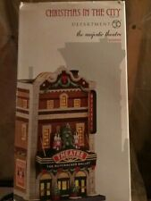 Dept 56 Christmas In The City Village The Majestic Theater Nib