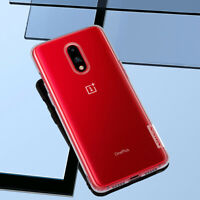 For OnePlus 7 Nillkin Nature Transparent Crystal Shockproof Soft TPU Case Cover