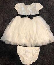 Baby Girls Wedding Christening Baptism Dress  Size 2 / 24months