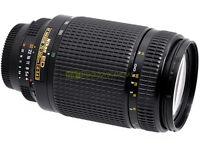 Nikon AF-D zoom Nikkor 70/300mm. f4-5,6. Garanzia 12 mesi.