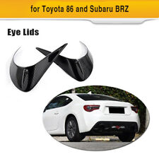 Carbon Tail lights Eyelids Eyebrow Cover For Toyota GT86 Scion FRS Subaru BRZ