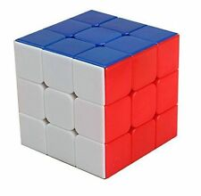 Rubik Cube 3x3x3 Smooth Plastic Puzzle Brain Stickerless Speed Magic Gift New
