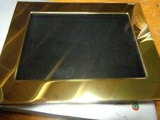 21-New 5 x 7  Gold  DisplayFrames for Pins, Medals,ect