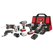PORTER-CABLE PCCK617L6 20V Max Lithium Ion 6-Tool Combo Kit with Free USB... New