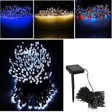 200 LED 22M Energía Solar Luces De Cuerda Jardín Navidad Exterior Interior