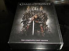 Game Of Thrones - LA COMPLETA PRIMERA TEMPORADA -DVD- 2012-5 CAJA DE DISCOS - R2