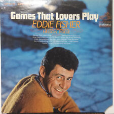 "Eddie Fisher - Games That Lovers Play 1966 RCA Victor 12"" 33 RPM LP (EX) Pop"