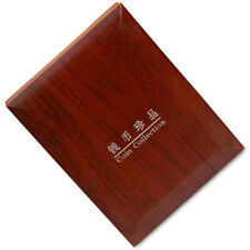 1 Coin Slab Wood Certified Storage Box Holder Collection Display For PCGS NGC