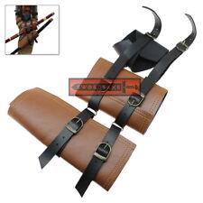 Double Sword Medieval & Japanese Frog Belt Loop Holster Katana Waist Mount Strap