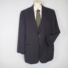 GIORGIO ARMANI Collezioni black stripes wool Sport Coat 39S jacket blazer n5