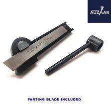 Lathe Cut Off Parting Tool Holder 516 X 34 X 4 12 Hss Blade 332 X 12