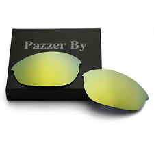24K Gold Mirrored Replacement Lenses for-Oakley Half Jacket Polarized AU Sydney