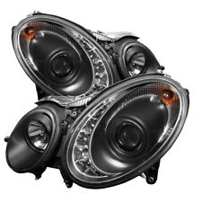 Mercedes Benz 07-09 W211 E320 E350 E500 E63 DRL Noir Led Phares Projecteur