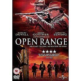 Open Range DVD