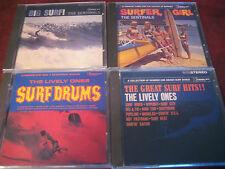 SENTINALS LIVELY ONES & IMPACTS INSTRUMENTAL ORIGINAL 1995 DEL-FI LABEL 5 CDS