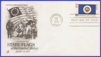 USA3 #1664 U/A ARTCRAFT 3 FDC   Minnesota State Flag