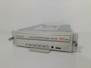 Nakamichi MJ-5.16SI 16X 5-Disk SCSI 50 Pin. CD-ROM Changer Tested