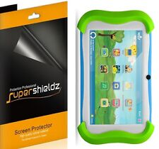 3X Supershieldz Clear Screen Protector for Sprout Channel Cubby 7 Inch Tablet
