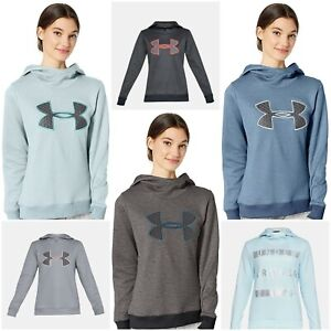 NWT UNDER ARMOUR Women's Armour Fleece® Big Logo Hoodie SELECT SIZE & COLOR