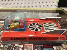 Antique 1960s Cragstan Space Mobile Lunar Patrol Tin Litho Toy #72840 Japan