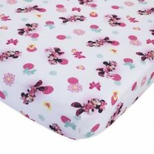 Disney Minnie Mouse Smart & Sweet Toddler Bedding Fitted sheet