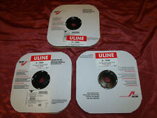 """ULINE Velcro Brand 1440 COUNT Coins Hook White 1⁄2"""" x 75'  S-7849//8 , (3) ROLLS"""