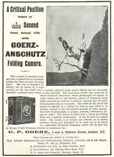 1900 Herr Ottomar Anscutz Focal Plane Shutter Goerz