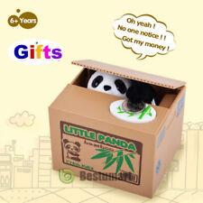 Automated Itazura Stealing Panda Coins Piggy Bank Money Saving Box Case Gift2018
