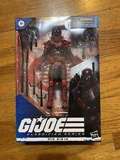 2020 G.I. Joe Classified RED NINJA 6 inch Figure NEW in hand READY TO SHIP