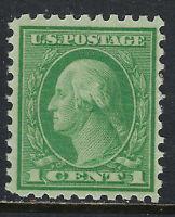 SCOTT 462 1914 1 CENT WASHINGTON REGULAR ISSUE MNH OG VF CAT $16!