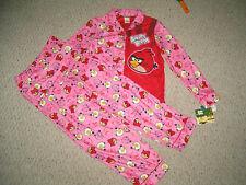 Girl's Angry Birds 2-pc Pajama Set Size 10/12 Girl's  $35 Retail