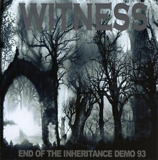 ANARCHUS / WITNESS - Sessions 88-91/End Of The Inheritance Demo 93 CD Grindcore