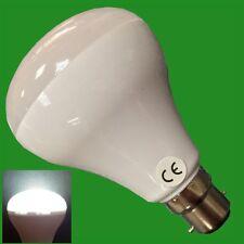 4x 6w R80 LED Bajo Consumo Reflector 6500k Blanco Bombilla Foco BC B22