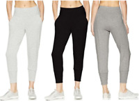 NEW!! Jockey® Sport Women's Ladies Slim Tapered Soft Terry Jogger Pants Variety