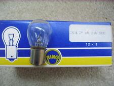 Box of 10, 6 Volt , 21 Watt SCC Bulbs by Ring Automotive R317