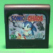 Sega Game Gear Sonic Chaos #n811