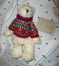 "Boyd's Gunnar Teddy Bear 9""  Plush Soft Toy Stuffed Animal"