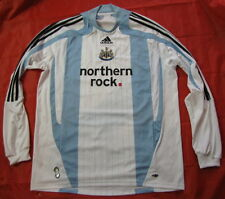 NEWCASTLE UNITED Third LONG SLEEVE shirt ADIDAS 2007-08 The Magpies adult SIZE L