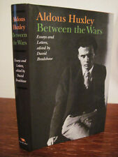 1st Edition BETWEEN THE WARS Aldous Huxley ESSAYS Letters FIRST PRINTING