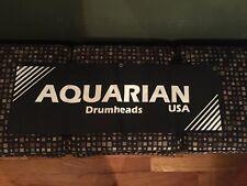 """Aquarian Drumheads Banner 36""""x12"""""""