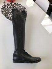 Arche Damen Overknee Stiefel Gr 37 Echtleder Schwarz Neuwertig Edel Np 450€