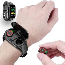 Bluetooth 4 Smart Wrist Bracelet Watch Heart Rate Monitor Health Fitness Tracker