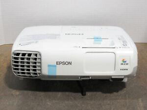 Epson PowerLite X27 3LCD XGA Projector 2700 Lumens 4627 Lamp Hours NO REMOTE