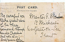 Genealogy Postcard - Family History - Martin? - Westgate on Sea - Kent   531A