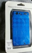 Motorola Droid Razr  - Smart Series Case - New, Sealed - blue/silver