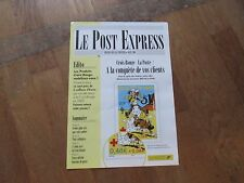 JOURNAL LE POST EXPRESS special postiers timbres lucky luke morris 4 pages XX