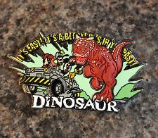 Disney - WDW Animal Kingdom - Dinosaur Attraction With Fab 4 Pin - 3D