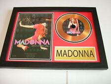 madonna   SIGNED  GOLD CD  DISC 2