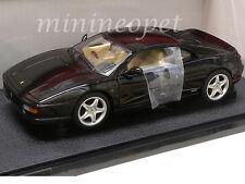 HOT WHEELS BLY58 FERRARI F 355 BERLINETTA COUPE 1/18 DIECAST MODEL CAR BLACK